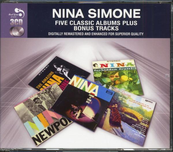 Five Classic Albums Plus Bonus Tracks (3-CD)
