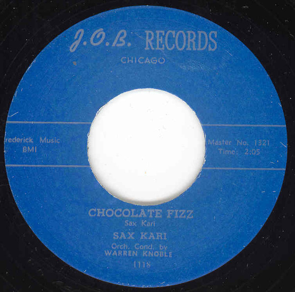 Chocolate Fizz - Goldie The Green Eyed... 7inch, 45rpm