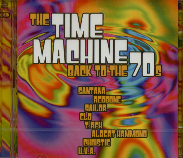 The Time Machine - Back To The 70s (2-CD)