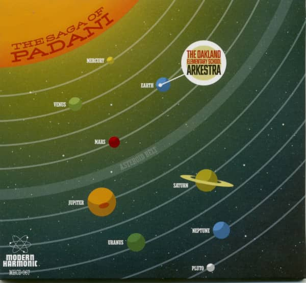 The Saga Of Padani (CD)