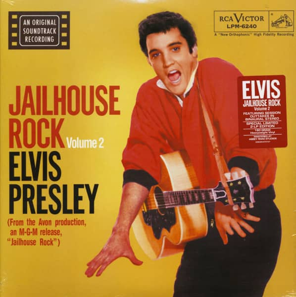 Jailhouse Rock Vol.2 (2-LP, 180g Viny, Ltd.)