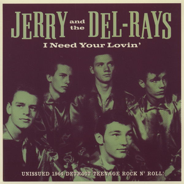 I Need Your Lovin' b-w Question Mark 7inch, 45rpm, PS