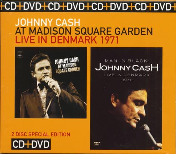 At Madison Square Garden - Live in Denmark 1971 (CD & DVD, Ltd.)