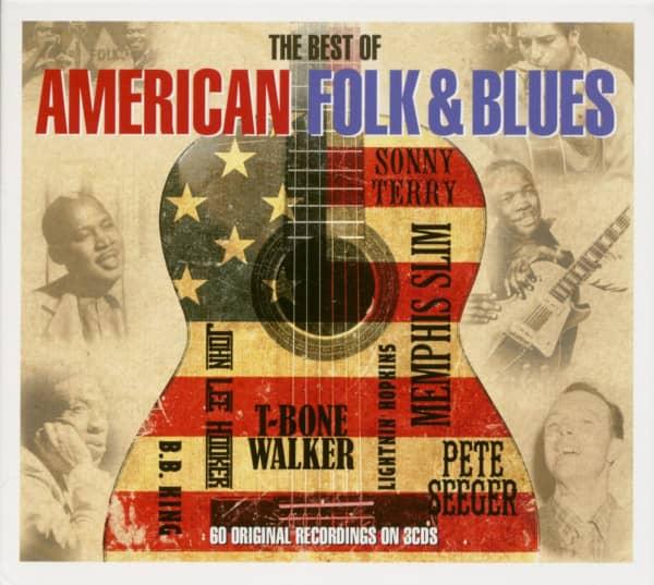 Best Of American Folk & Blues (3-CD)