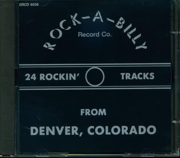 Rock-A-Billy Record Co. Sampler (CD)