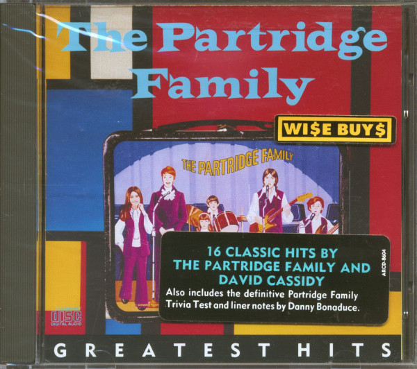 Greatest Hits - Featuring David Cassidy (CD)