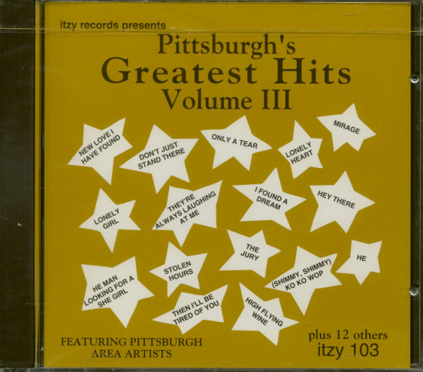 Pittsburgh's Greatest Hits Vol. 3 (CD)