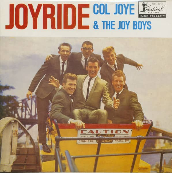 Joyride - Let's Rock With Col Joye (LP)