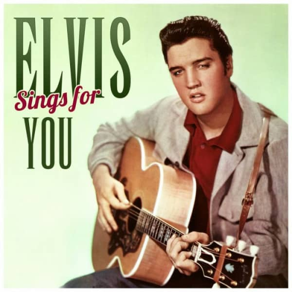 Elvis Sings For You (LP & CD, Ltd.)