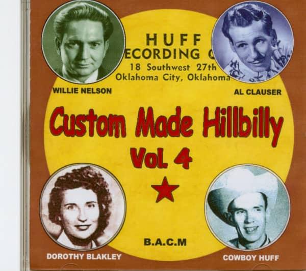 Custom Made Hillbilly Vol.4 (CD)
