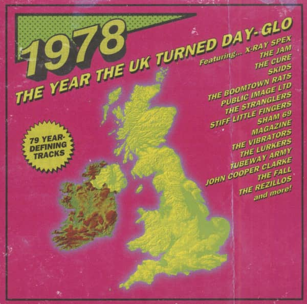 1978 The Year The UK Turned Day-Glo (3-CD)