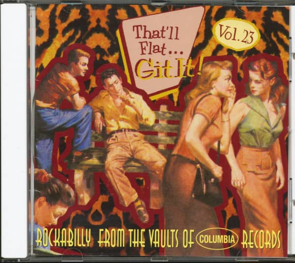 Vol.23 - Rockabilly From The Vaults Of Columbia Records (CD)
