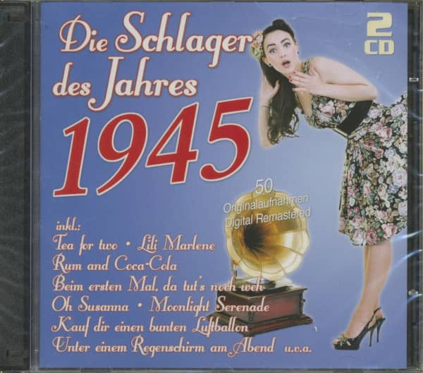 Die Schlager des Jahres 1945 (2-CD)