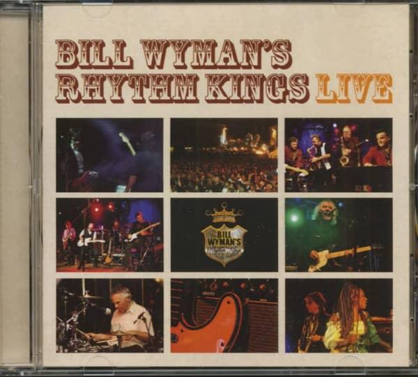 Bill Wyman's Rhythm Kings - Live (CD, Cut-Out)