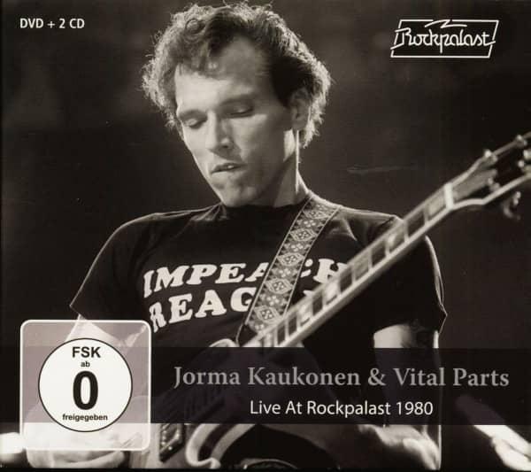 Live At Rockpalast 1980 (2-CD & DVD)