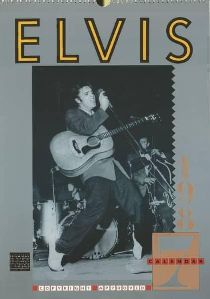Elvis Presley - 1987 Atalanta Calendar