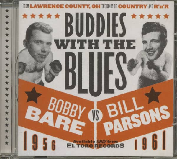 Buddies With The Blues (CD)