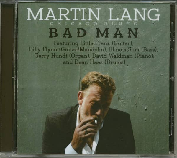 Blues Harp Bad Man (CD)