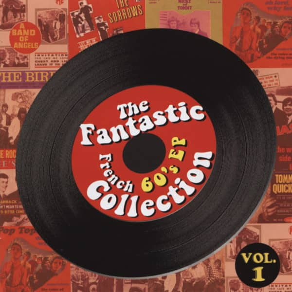 Fantastic French 60's EP Colletion 2-CD