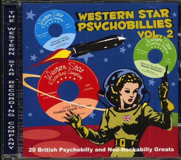 Western Star Psychobillies Vol.2 (CD)