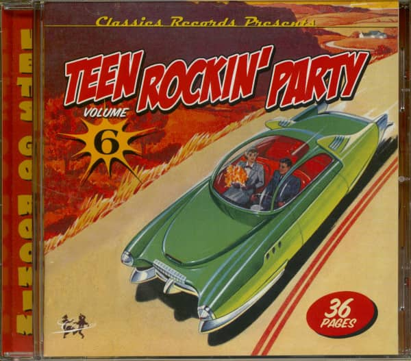 Teen Rockin' Party Vol.6 (CD)