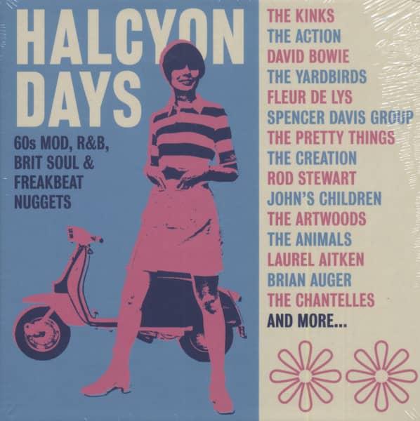 Halcyon Days - 60s Mod, R&B, Brit Soul & Freakbeat Nuggets (3-CD)