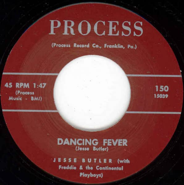 Dancing Fever b-w Tear Drops And Pennies 7inch, 45rpm