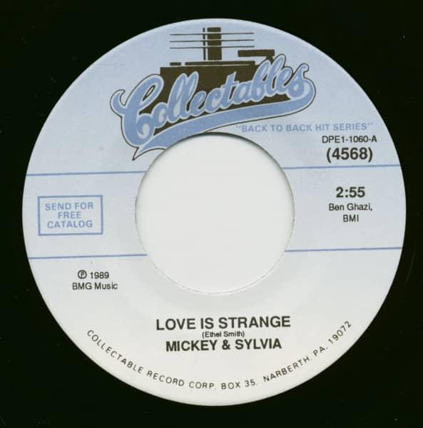 Love Is Strange - Dearest (7inch, 45rpm, BC)