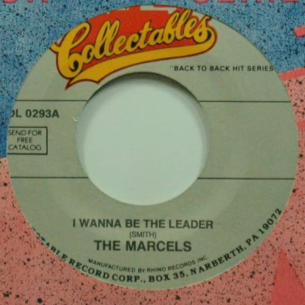 I Wanna Be The Leader b-w Never Stop Loving You 7inch, 45rpm