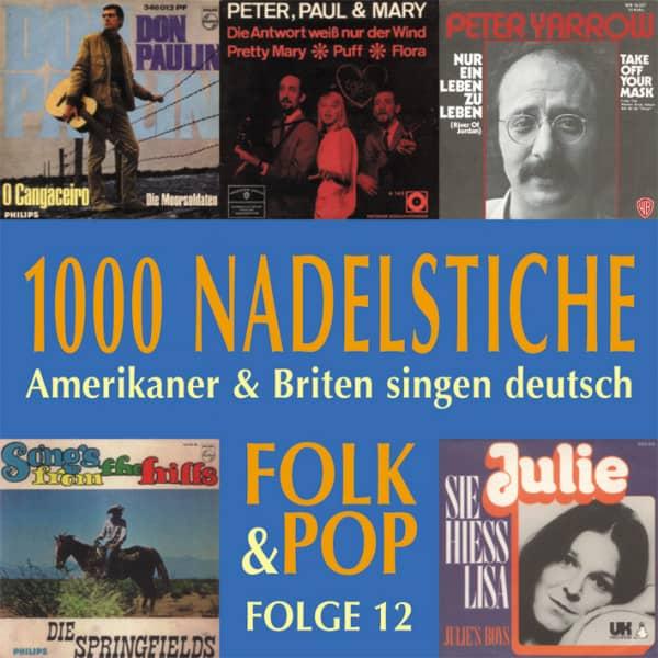Vol.12, Folk & Pop - Amerikaner & Briten singen deutsch (CD)