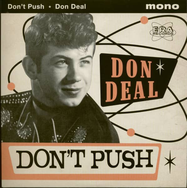 Don't Push (7inch, 45rpm, PS, SC)