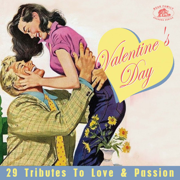 Valentine's Day - 29 Tributes To Love & Passion (CD)