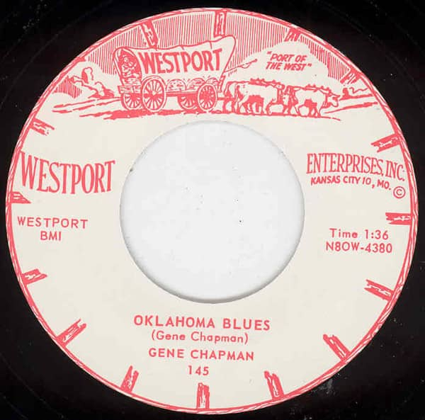 Oklahoma Blues b-w Don't Come Cryin 7inch, 45rpm