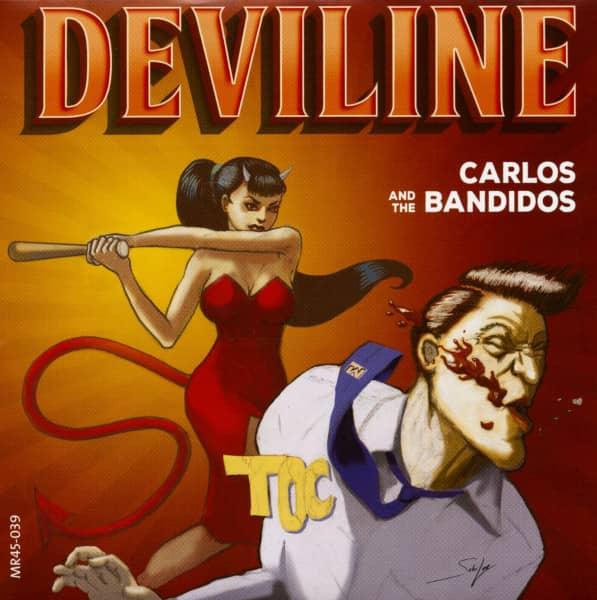 Deviline (7inch, 45rpm, PS, Ltd.)