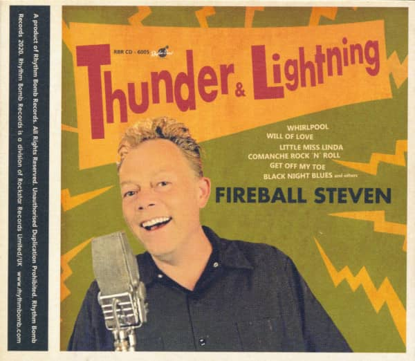 Thunder & Lightning (CD)