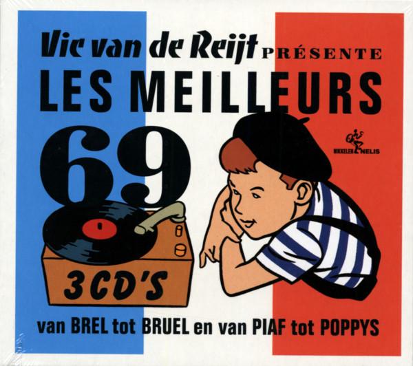Vic Van De Reijt - Les Meilleurs 69 (3-CD)