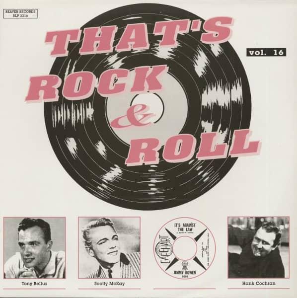 That's Rock & Roll, Vol.16 (LP)