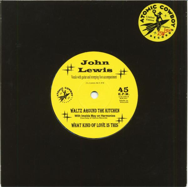Waltz Around The Kitchen (7inch, 45rpm, Blue Splatter Vinyl, SC, Ltd.)