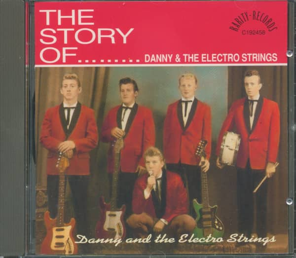 The Story Of Danny & The Electro Strings (CD)