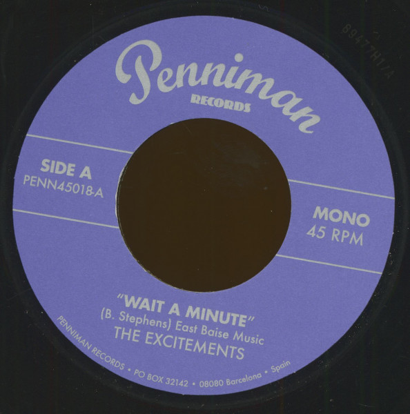 Wait A Minute - Right Now (7inch, 45rpm)