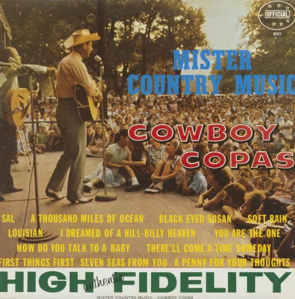Mister Country Music (LP, RE)