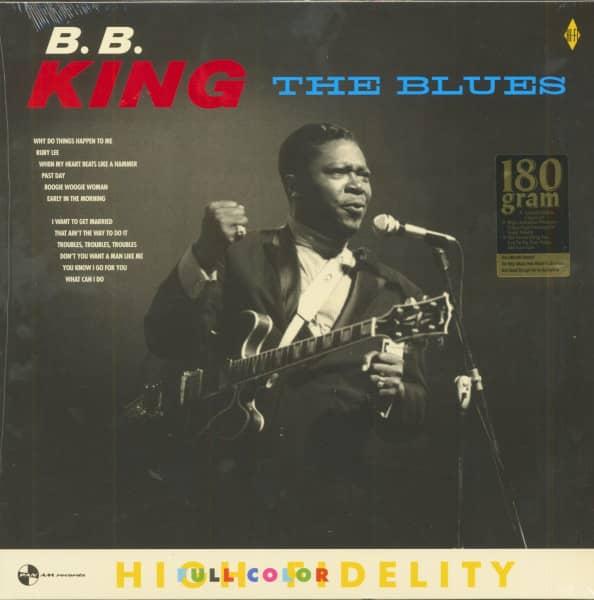 The Blues (LP, 180g Vinyl, Limited Edition)