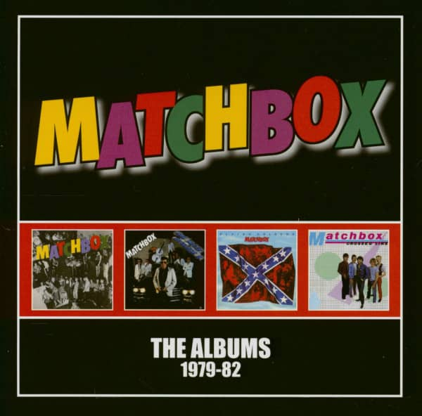 The Albums 1979-1982 (4-CD Cube Box)