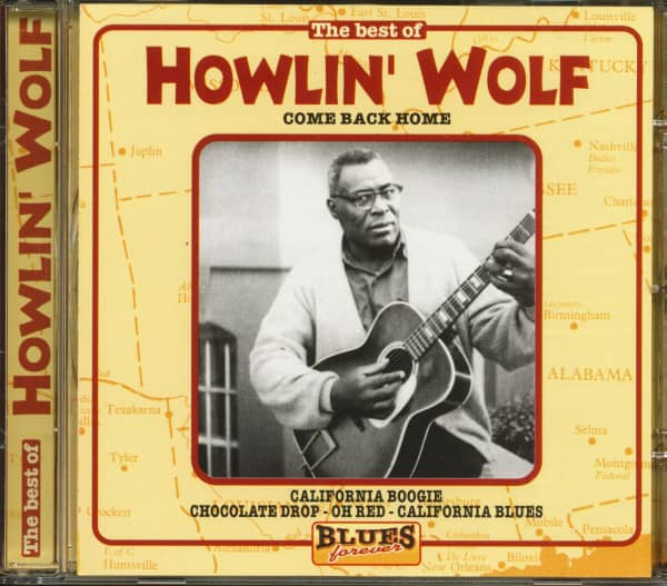 Blues Forever - The Best Of Howlin' Wolf (CD)