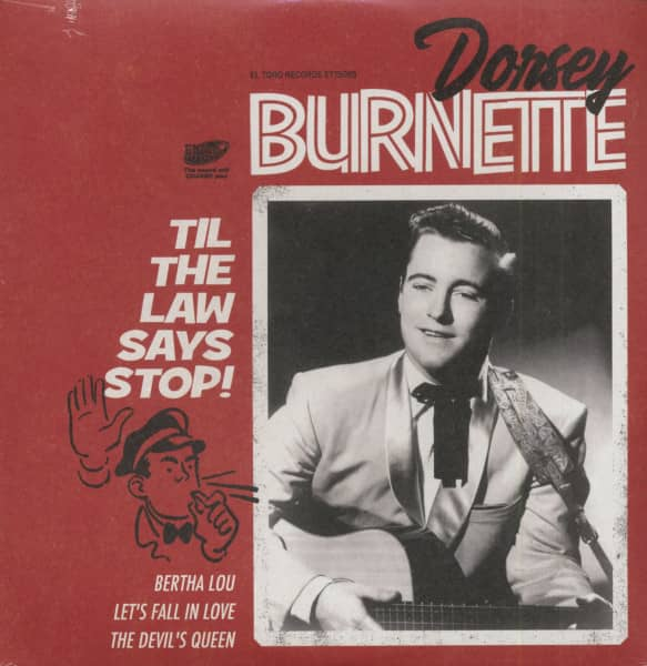 Til The Law Says Stop! (7inch, EP, 45rpm, PS)