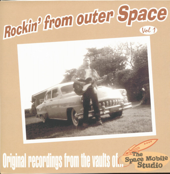 Rockin' From Outer Space Vol.1 - 10inch LP