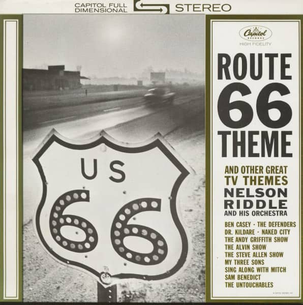 Route 66 And Other TV Themes (LP)