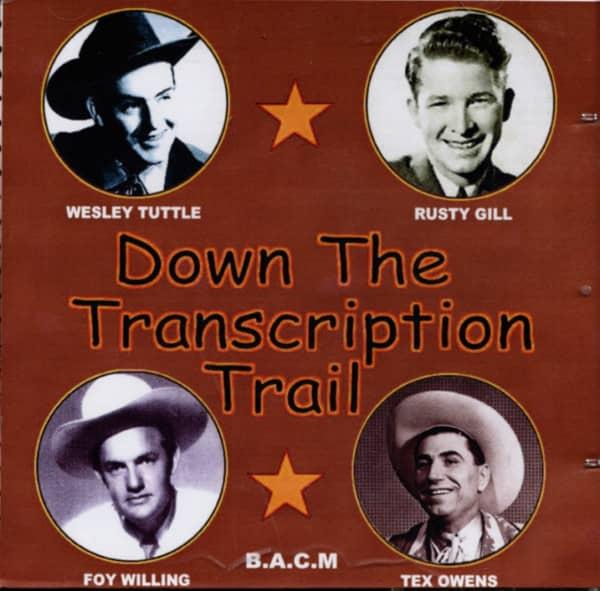 Down The Transcription Trail