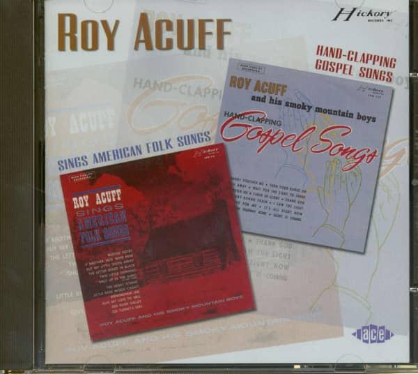 Sings American Folk Songs & Hand Clapping Gospel Songs (CD)