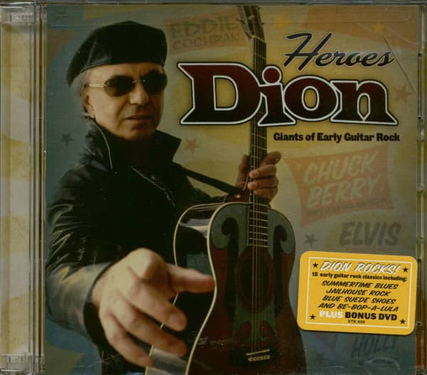 Heroes: Giants Of Early Guitar Rock (CD&DVD)